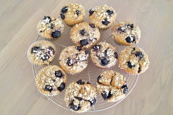 havermout bosbessen muffins (1)
