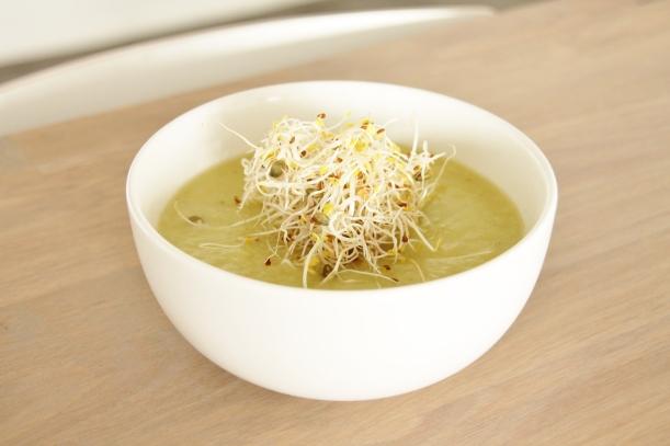 asperge-courgette soep