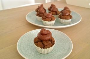 teff choco cupcakes