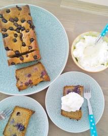 vanille bosbessen cake (3)