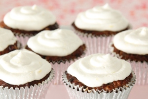 chocolate chip muffins met courgette - kopie