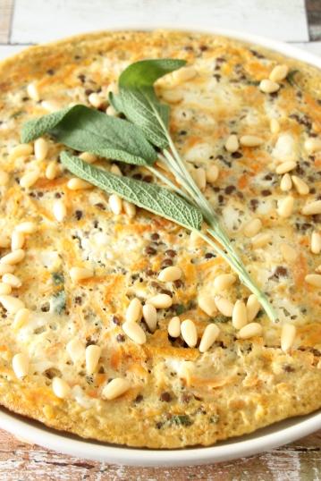 wortel-linzen omelet (2)